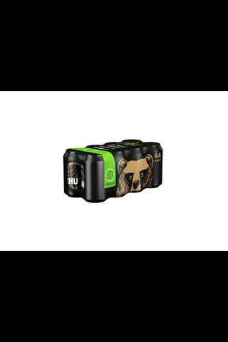 1x 8-pack Karhu Lager olut 4,6% tölkki 0,33 L
