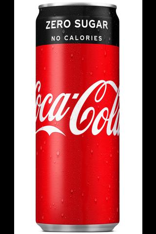 Coca-Cola Zero 25 cl tlk virvoitusjuoma