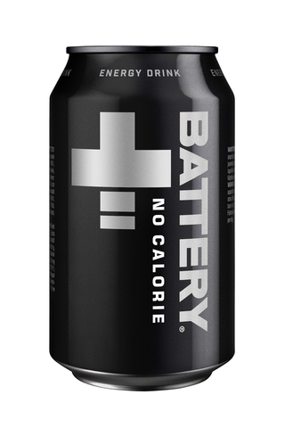 Battery No Calories Energy Drink %33 cl tölkki sokeriton energiajuoma