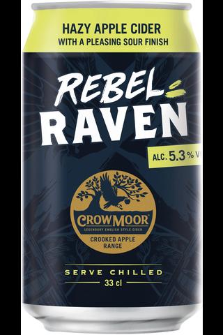 Crowmoor Rogue Raven 5,3% 33 cl tlk