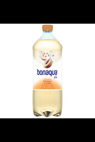 Bonaqua Vita Persikka ja Tyrni 1,5l muovipullo kivennäisvesi