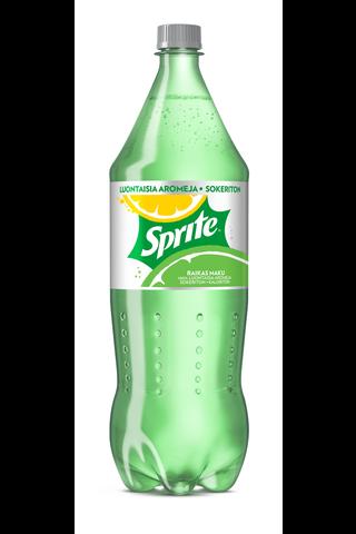 Sprite Sitruuna Lime Sokeriton 150 cl KMP muoviplo virvoitusjuoma