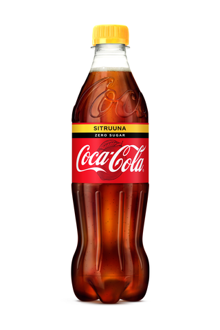 Coca-Cola Zero Sugar Sitruuna 0,5 l KMP virvoitusjuoma