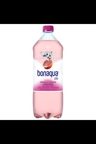 Bonaqua Vita Granaattiomena & Mustikka 1,5 l muovipullo kivennäisvesi
