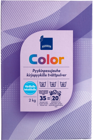 Color pyykinpesujauhe 2 kg Fosfaatiton