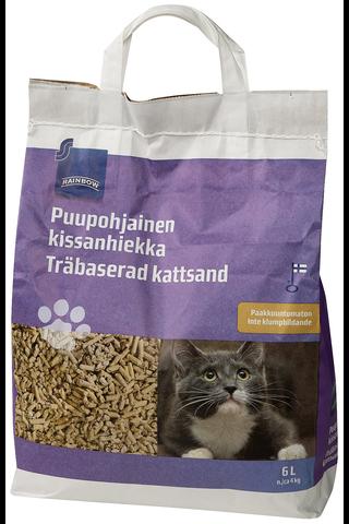Puupohjainen kissanhiekka 6 l