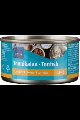 Rainbow Tonnikalaa currykastikkeessa 185/74 g