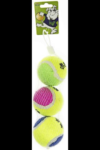 Pet star tennispallot 3 kpl