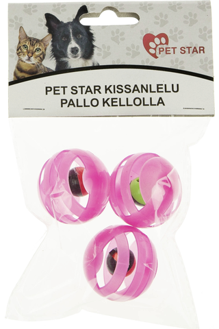 Pet Star kissanlelu pallo kellolla