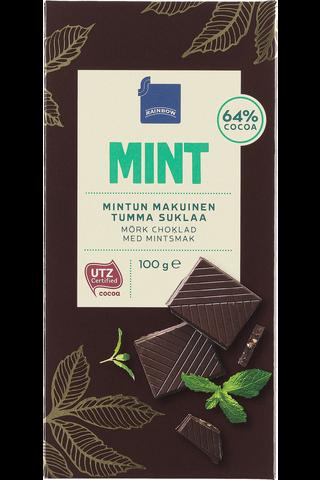 Rainbow Mint mintun makuinen tumma suklaa 100 g