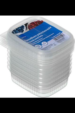 Rainbow Kannellinen pakastusrasia 0,35 l, 7 kpl