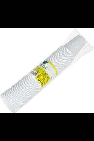 Rainbow 80kpl/210ml muovipikari valkoinen MP210J