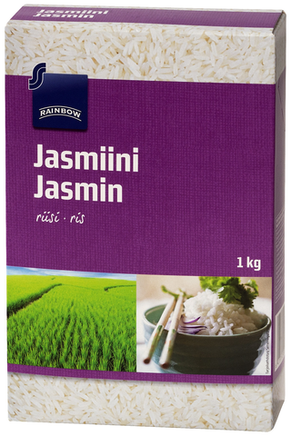 Rainbow Jasmiiniriisi 1 kg
