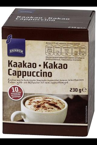 Rainbow Kaakao cappuccino 10 annospussia, 230 g