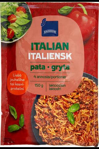 Rainbow Italianpata/Spagetti-kasvis-mausteseos 150 g