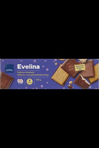 Rainbow Suklainen täytekeksi 150 g, 9 kpl
