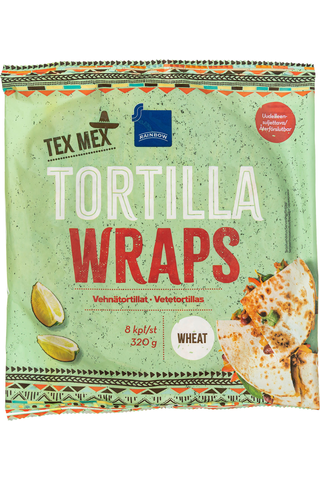 TEX MEX vehnätortillat, 8 kpl/320 g