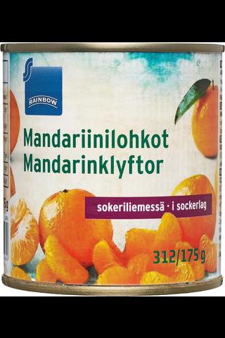 Rainbow Mandariinilohkot sokeriliemessä 312/175 g
