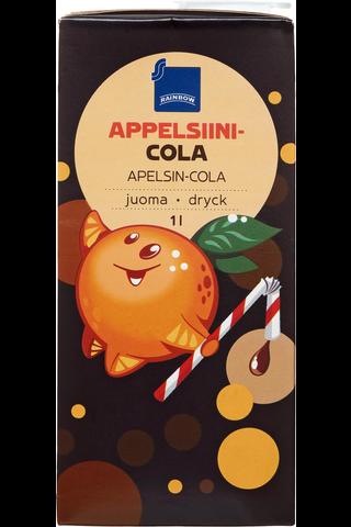 Rainbow Appelsiini-colajuoma 1 l