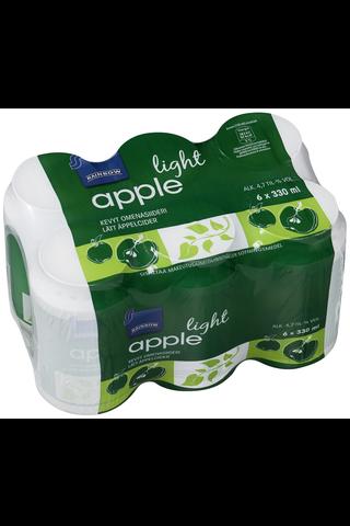 Rainbow Apple light kevyt omenasiideri 4,7 til-% 6 x 330 ml