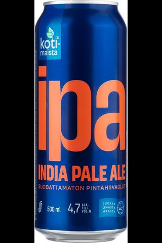 Kotimaista 0,5L IPA 4,7% olut