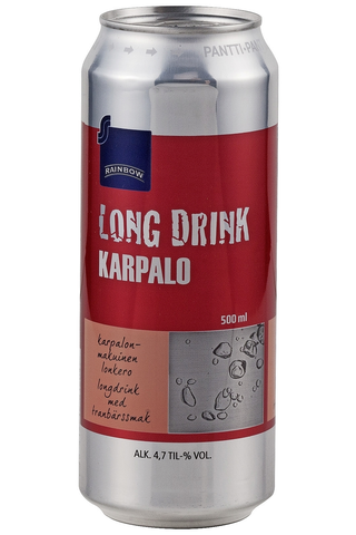 Rainbow Karpalo Long Drink 4,7 til-% 500 ml
