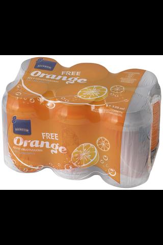Rainbow Orange Free 6 x 330 ml