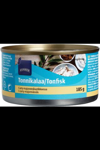 Rainbow Tonnikalaa curry-majoneesikastikkeessa 185 g
