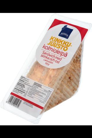 Kinkku-juustokolmioleipä 150 g