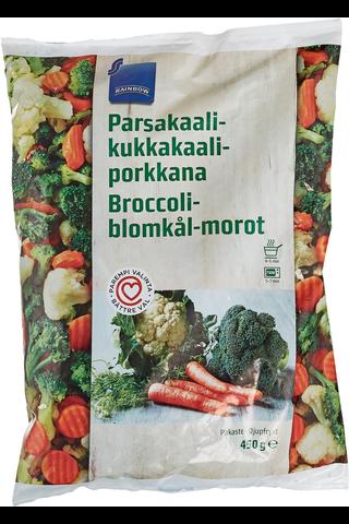 Rainbow Parsakaali-kukkakaali-porkkana 450 g