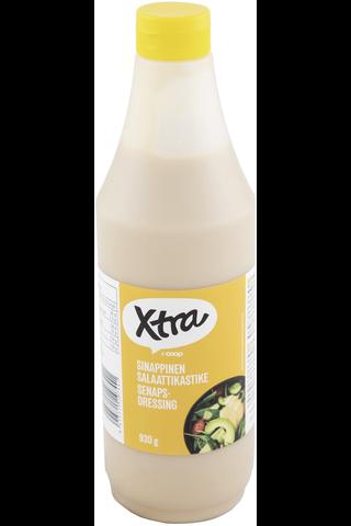 X-tra Sinappinen salaattikastike 930 g