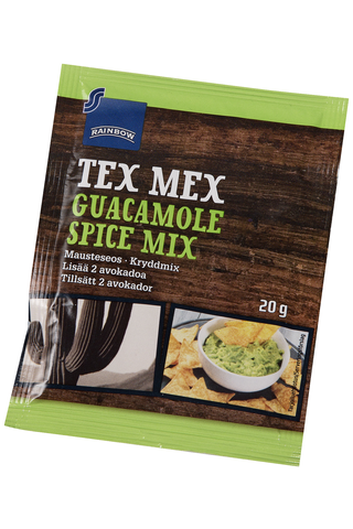 Rainbow Tex Mex Guacamole Spice mix 20 g