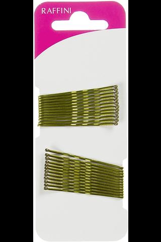 Raffini hiuspinni kulta 48mm 24kpl