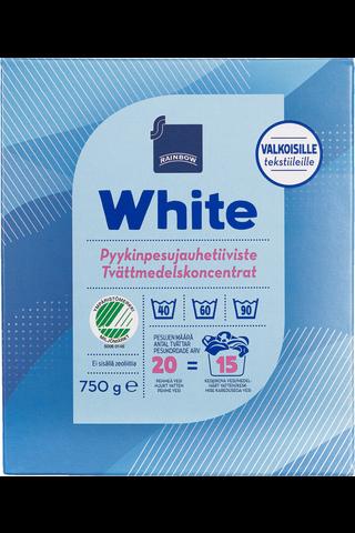 White pyykinpesujauhetiiviste 750 g