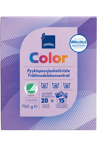 Color pyykinpesujauhetiiviste 750 g