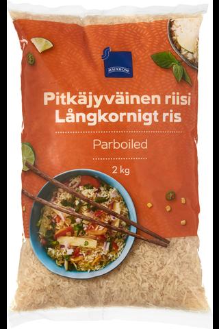 Pitkäjyväinen riisi 2 kg