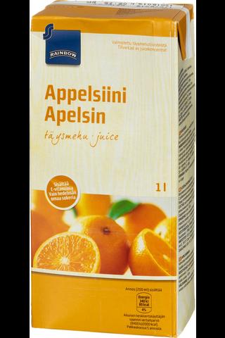 Rainbow 1L Appelsiinitäysmehu 100%