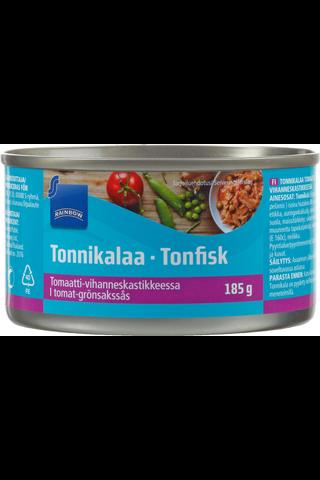 Rainbow Tonnikalaa pikantissa tomaattivihanneskastikkeessa 185/90 g