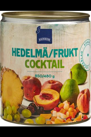 Rainbow Hedelmäcocktail sokeriliemessä 840/480 g