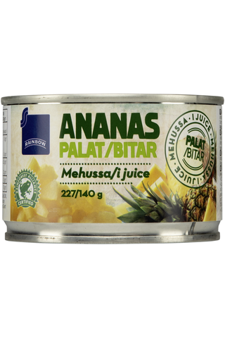 Rainbow Ananaspalat mehussa 227/140 g
