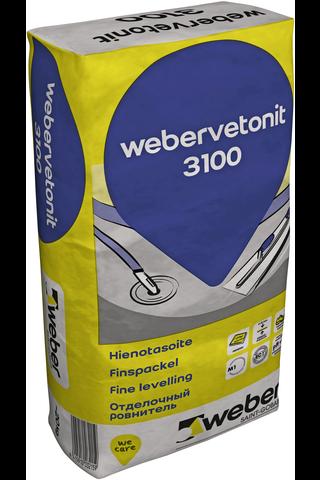 Weber vetonit 3100 Hienotasoite 20 kg