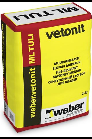 Weber vetonit ML Tuli muurauslaasti 25 kg