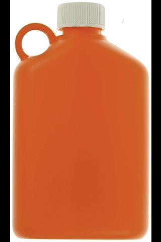 Plastex retkipullo 0,33l oranssi
