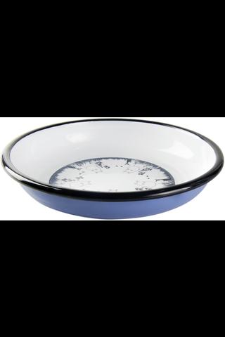 Muurla Muumipeikko astiasetti emalimuki 2,5dl emalilautanen 18cm