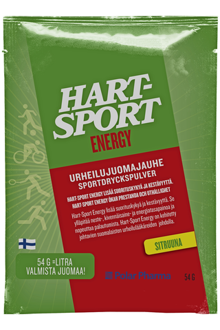 Hart-Sport 54g Energy Urheilujuomajauhe