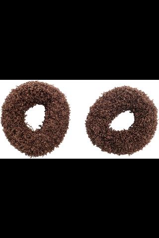 Cailap lankadonitsi ruskea 2 kpl