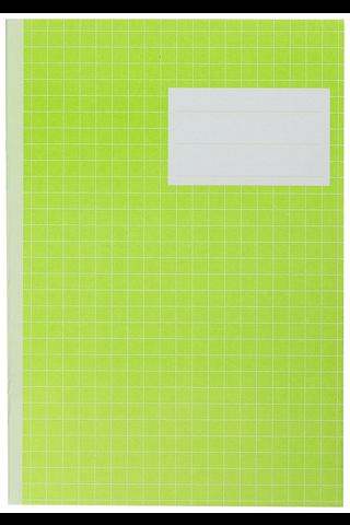Paperipiste värikäs kouluvihko A5/20 7x7mm