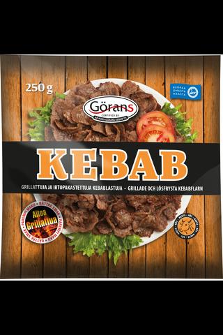 Korv-Görans Kebab 250g Kebablastu irtopakastettu