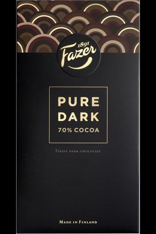 Fazer Pure Dark 70% Cocoa tumma suklaalevy 95g