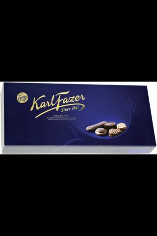 Karl Fazer Collection 550g 2-krs 64 konvehtia 14 eri makua, suklaakonvehdit